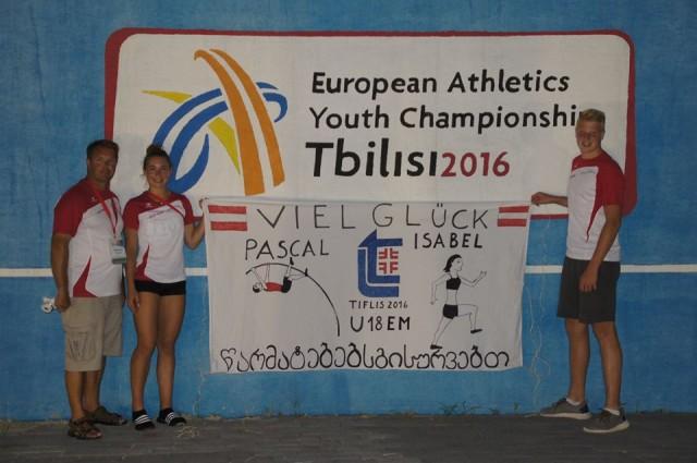VLV Athleten bei der U18 EM in Tiblis