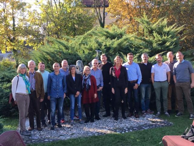 Treffen der neun österr. Leichtathletik-Landesverbände